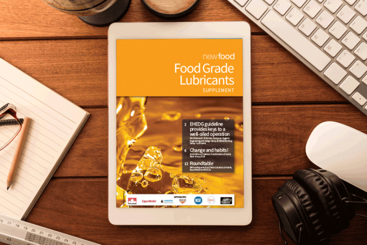 Food Grade Lubricants supplement 2016