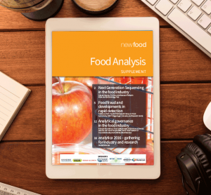 Food Analysis supplement 2016