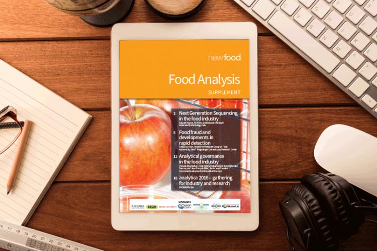 Food Analysis supplement 2016