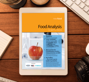 Food Analysis In-Depth Focus
