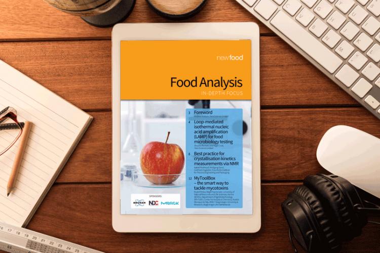 Food Analysis In-Depth Focus