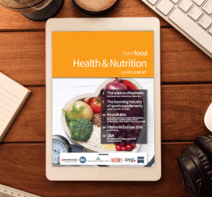 Health & Nutrition supplement 2016