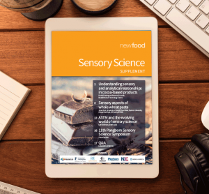 Sensory Science supplement 2015