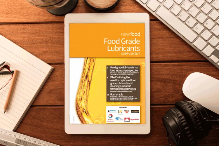 Food Grade Lubricants supplement 2016