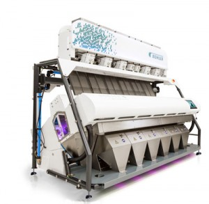 Bühler's SORTEX S UltraVision optical sorting machine