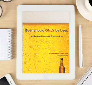 Beer should only be beer