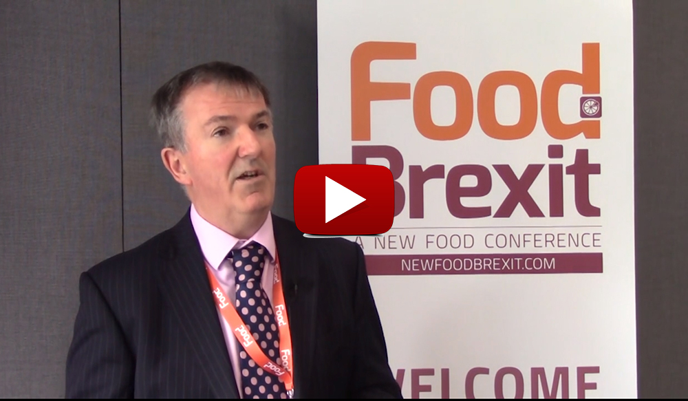 Food Brexit 2017: Interview with Declan O'Brien, Director General, British Specialist Nutrition Association