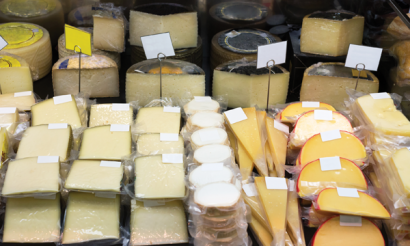 Different types of packaging are required for various types of cheeses