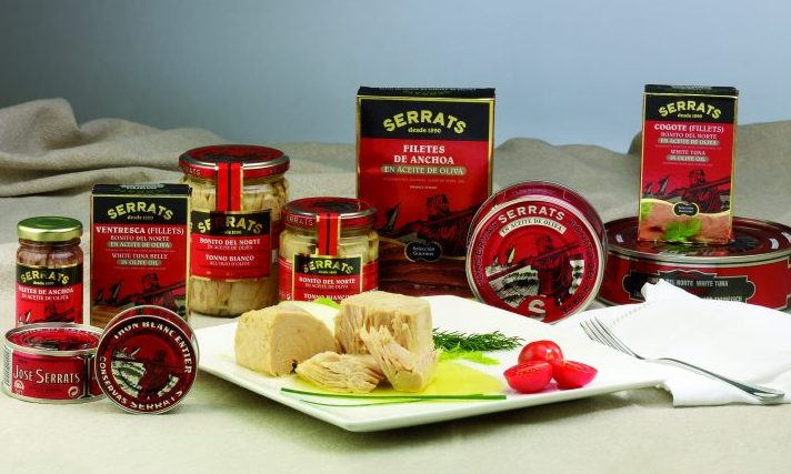 Serrats products Basque region