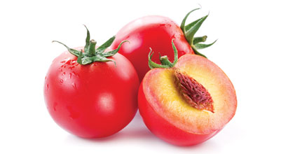 Food Fraud Tomato Peaches
