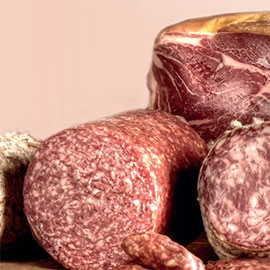 Fresh by high pressure, meat and sausages