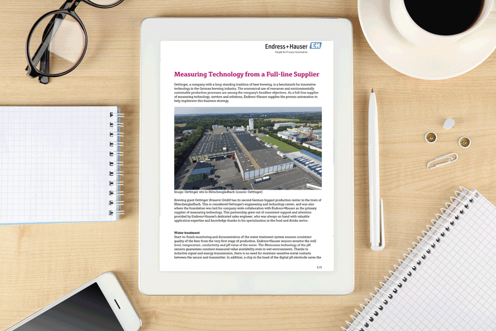 Whitepaper: Measuring technology from a full-line supplier