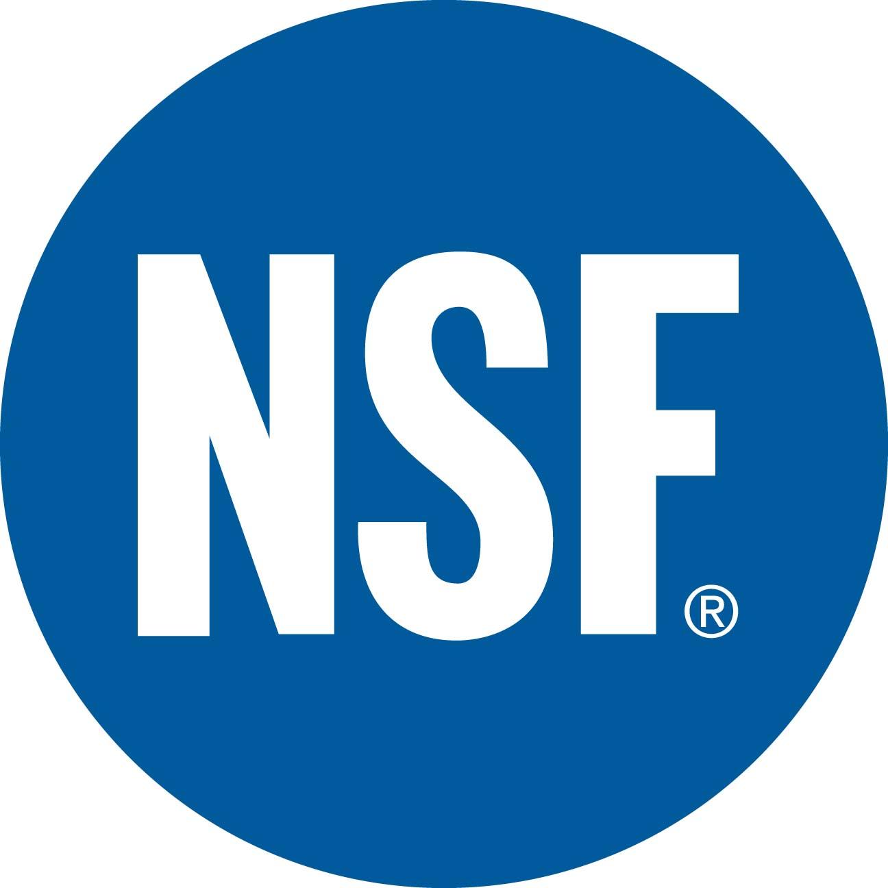 Resultado de imagen para NSF logo png