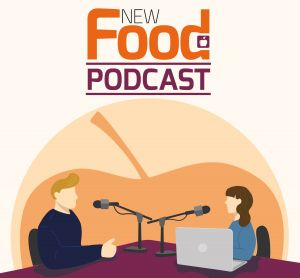 The New Food Podcast logo