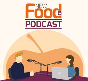 New Food podcast logo