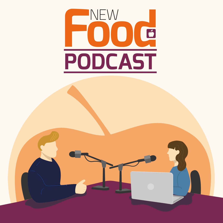 New Food podcast logo