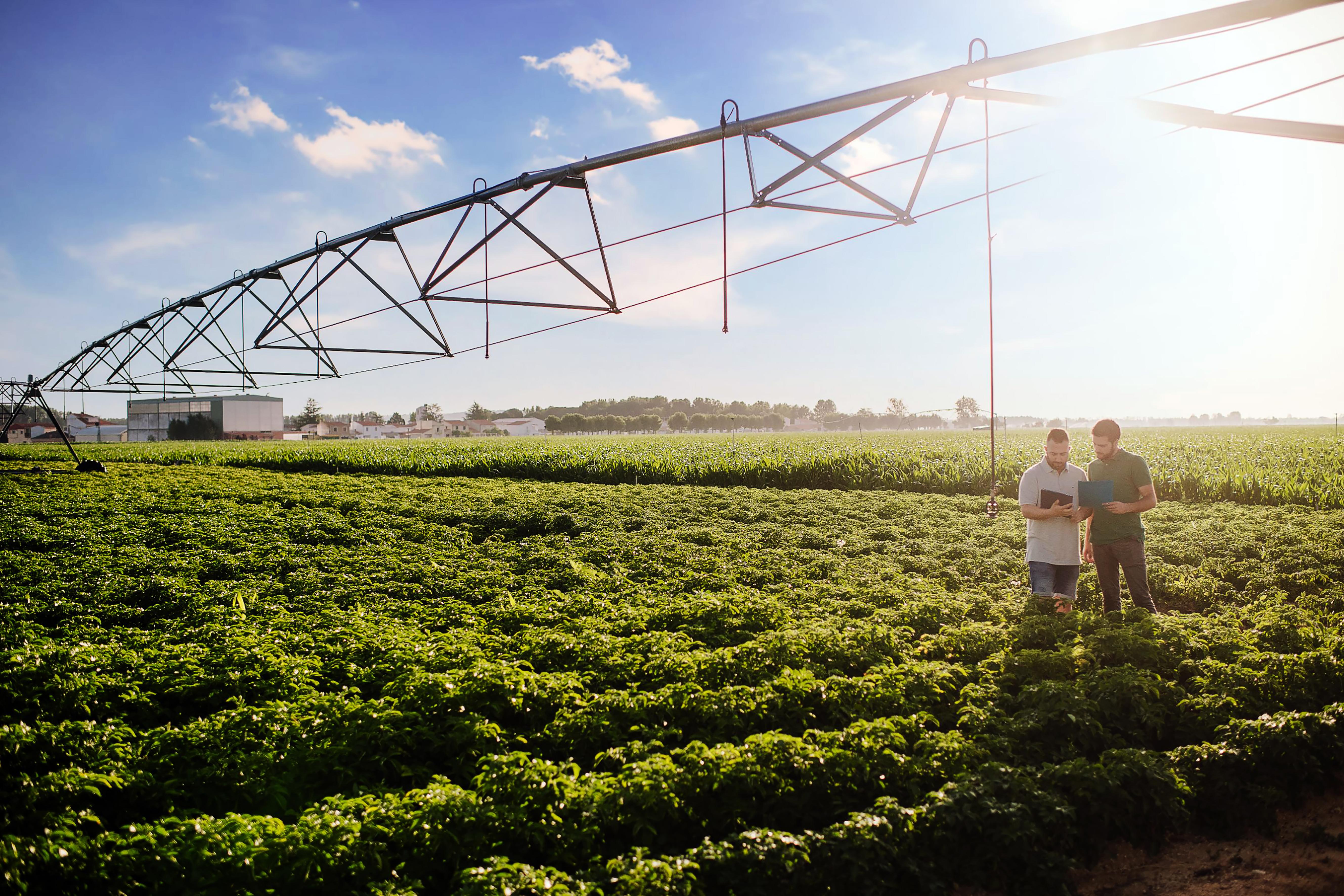 farmers using technology