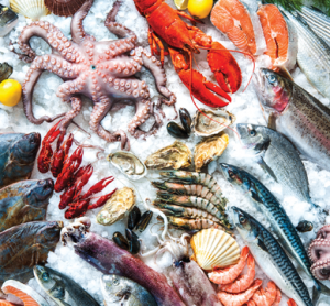 Seafood processing generates large quantities of by-products