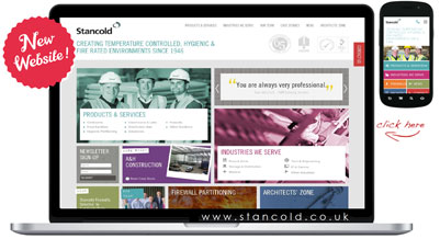 Stancold launch innovative new website