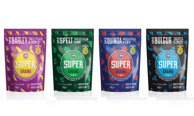 ASDA commit to launching I Am Super Grains superfood range into the mainstream