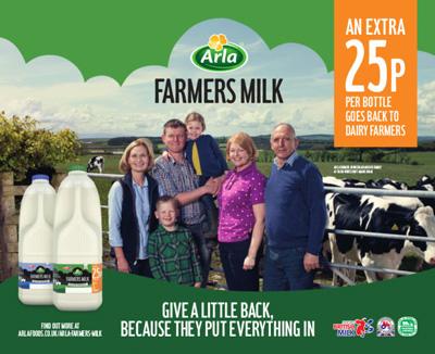 arla farmers milk