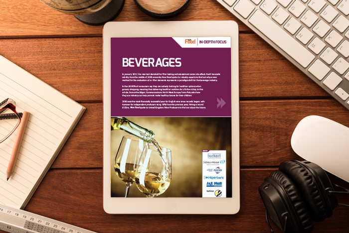 Beverages in-depth focus cover