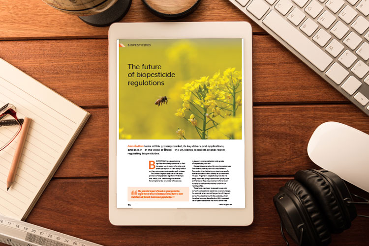 Biopesticide regulations featured article cover
