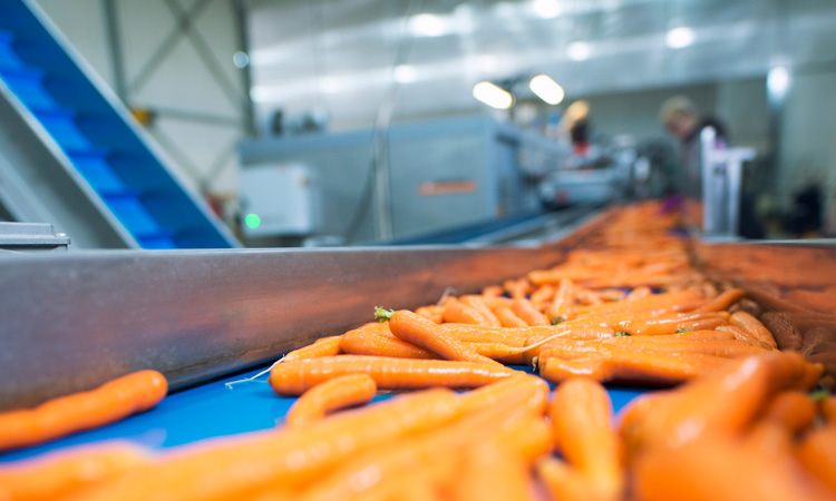 Food grade lubricants in certified organic production