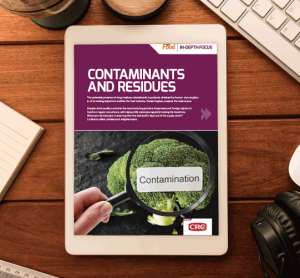 Contaminants and residues In Depth Focus 2018