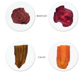 comparison beetroot carrot