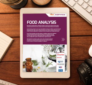 New Food issue 5 Food Analysis In-Depth Focus