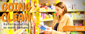 Going clean; clean label