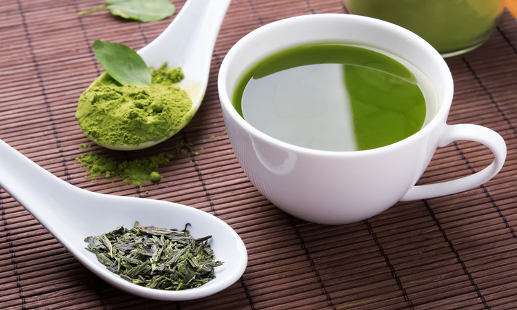 Fatty liver disease reduced by green tea extract and exercise