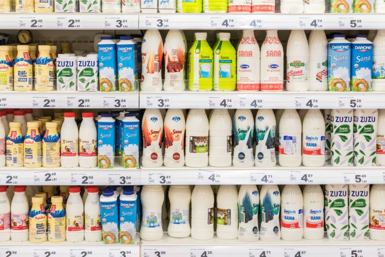 Packaging materials and methods for dairy applications ...