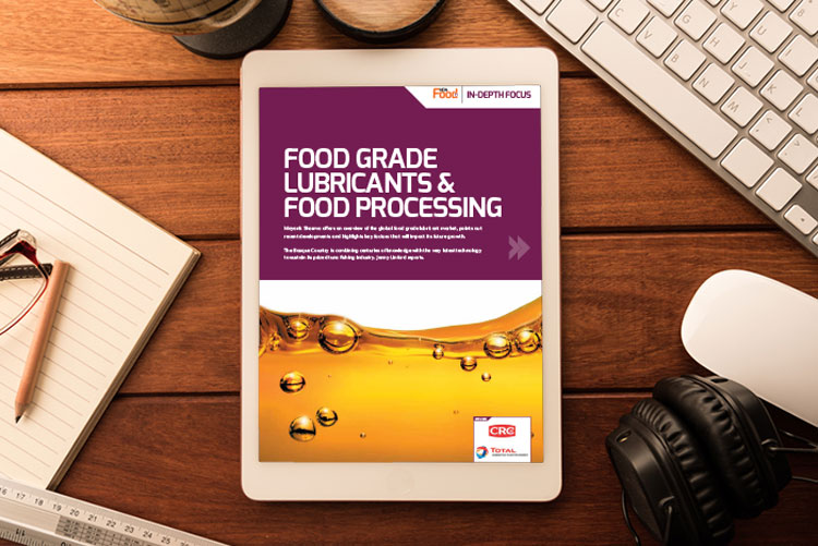 Food Grade lubricants in-depth focus cover