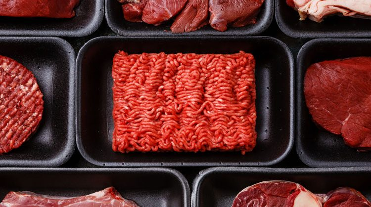 Packaged beef