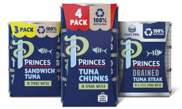 tuna product packaging