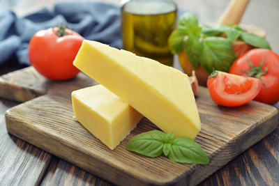 reduced-fat cheese