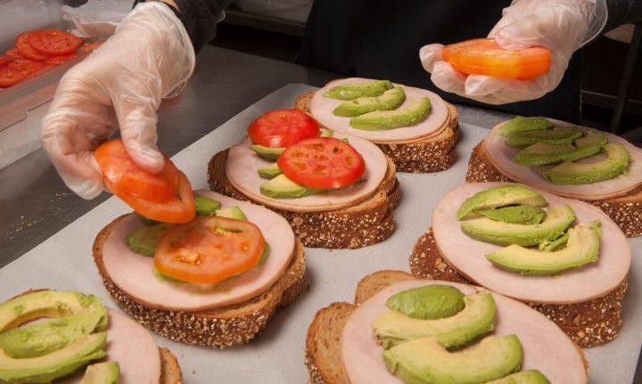 sandwich making HACCP