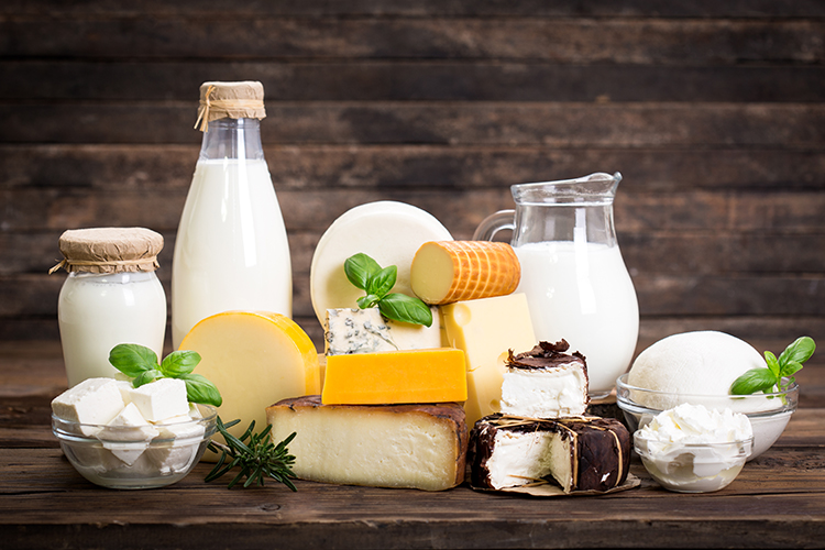 dairy products that can cause acne